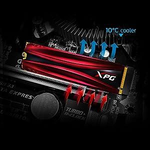 Adata Xpg Gammix S11 Pro 1tb Internal Solid State Drive Computers Accessories