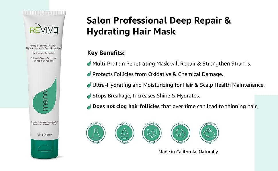 Reviv3 procare mend hair repair mask
