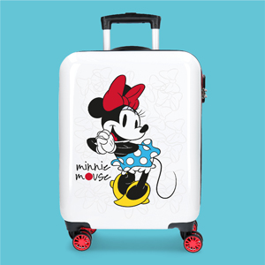 Neceser ABS Mickey Magic caras adaptable a trolley
