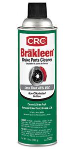 cleaner degreaser brake crc brakleen