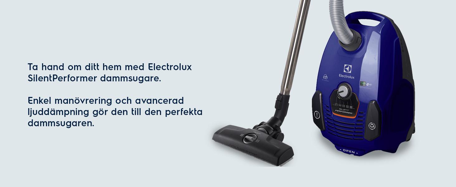 Ta hand om ditt hem med Electrolux SilentPerformer dammsugare.