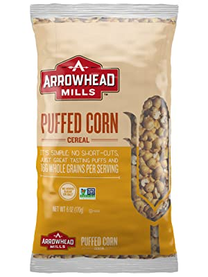 puffed;corn