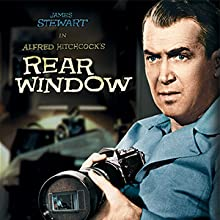 rear window, james stewart, hitchcock, alfred hitchcock, rear window 4k