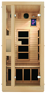 infrared sauna home sauna cheap sauna low EMF hemlock wood