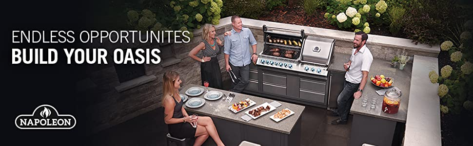 Endless Opportunities, Build your Oasis - Napoleon Grills
