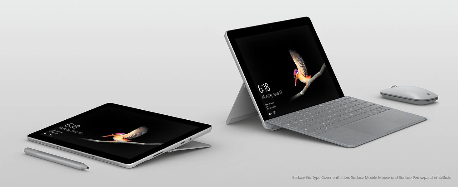 Surface GO inklusive Type Cover