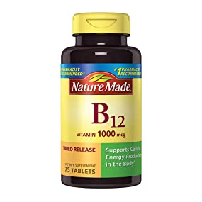 Nature Made Vitamin B12 1000 mcg Time Released
