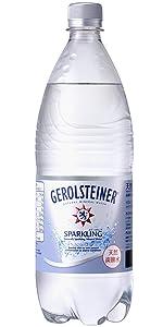 ポッカサッポロ GEROLSTEINER(ゲロルシュタイナー) 1L×12本 [正規輸入品]