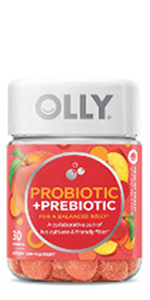 olly probiotic prebiotic adult