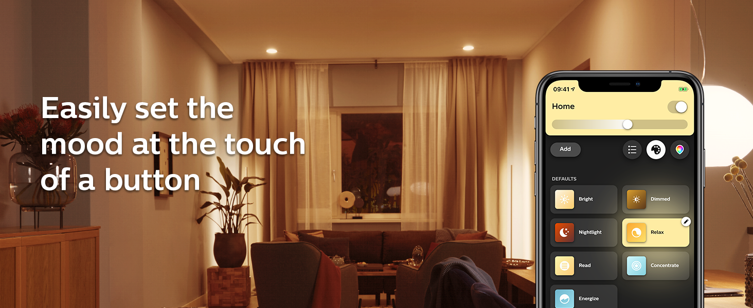 Philips;Hue;Bluetooth;voice control;app control;one room;expand;Hue Hub;smart lighting;smart home