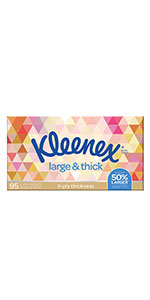 Kleenex Large & Thick
