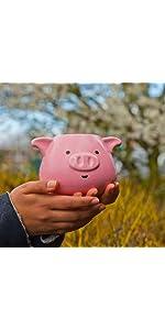 animal;animaux;mugs;cup;tasse;cuisine;family;collection;creative;cadeau;oreilles;cochon;pig;rose
