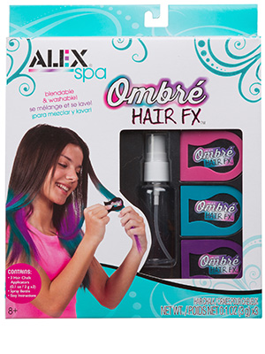 Hair, chalk, blend, color