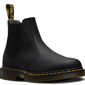 Details about NEW Mens Dr Martens 2976 Wintergrip Cocoa Brown Snowplow Leather Chelsea Boots