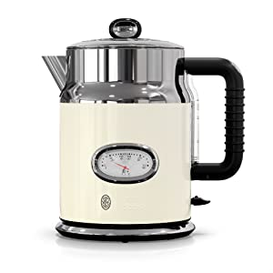 Amazon.com: Russell Hobbs Retro Style - Cafetera: Kitchen ...