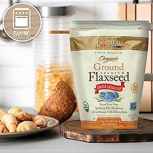 Spectrum Ground Flaxseed - Baking