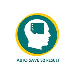 Auto Save 32 Last Result