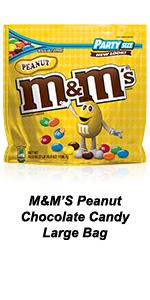 Fill your candy dish with a large bag of M&M'S.