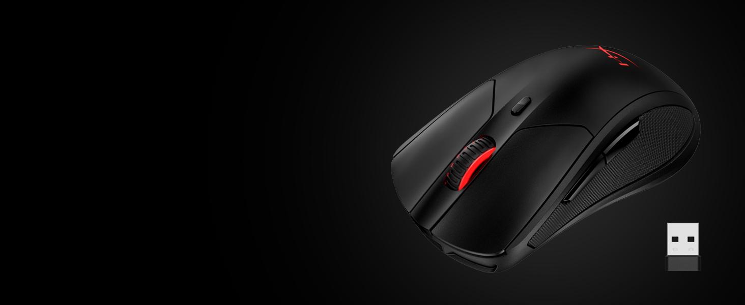 HyperX Pulsefire Dart - Wireless Gaming Mouse