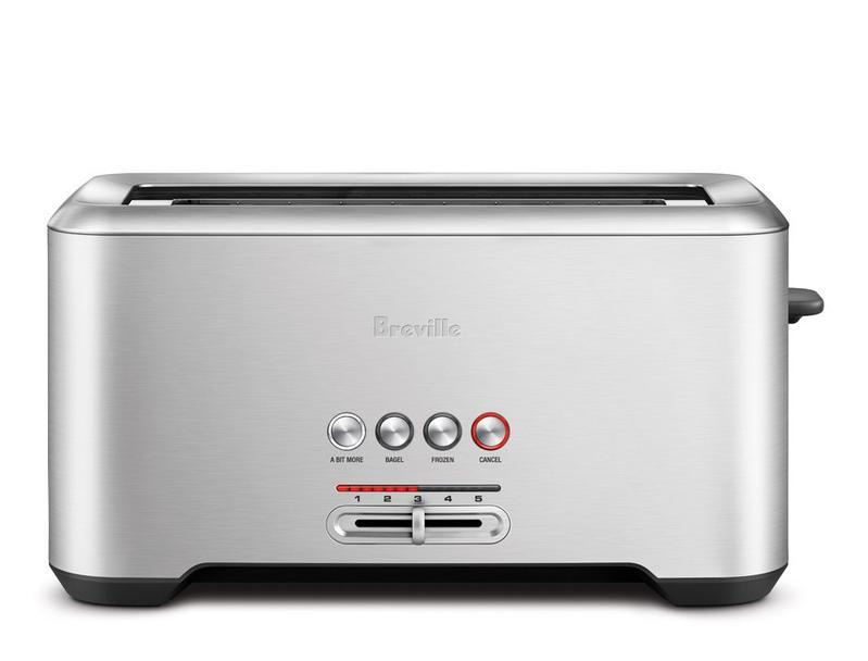 Amazon Com Breville Bta730xl The Bit More 4 Slice Toaster