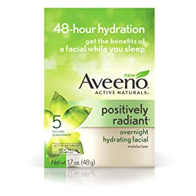 AVEENO POSITIVELY RADIANT 60 SECOND IN-SHOWER FACIAL, 5 Fl Oz