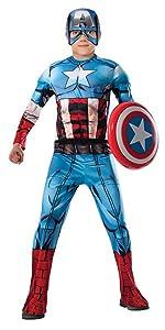 Child Deluxe Captain America Costume