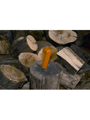 Pour merlin avec t/ête de frappe en polym/ère 1000600 acier au carbone forg/é Acier tremp/é Orange Fiskars Coin /éclateur rotatif forg/é de forme h/élico/ïdale