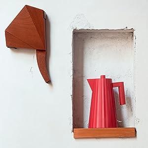 Alessi MDL06//1 R Bouilloire /électrique Rouge