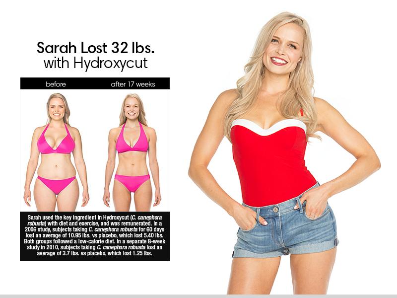 Sarah Lost 32 lbs