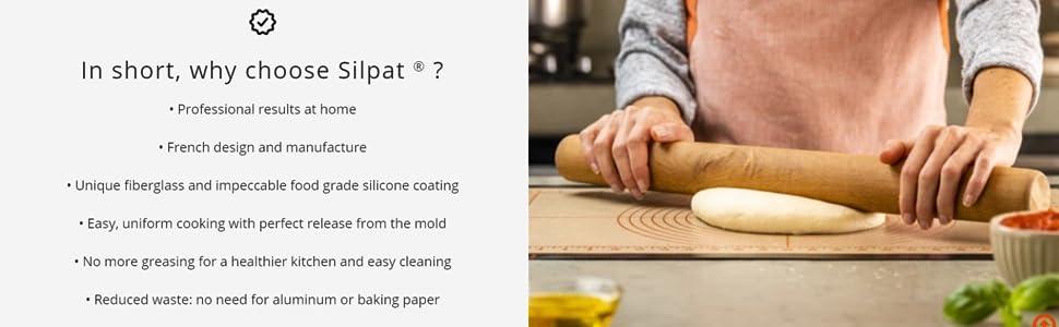 silpat, nonstick baking mat, baking mat, silicone mat, silicone baking mat