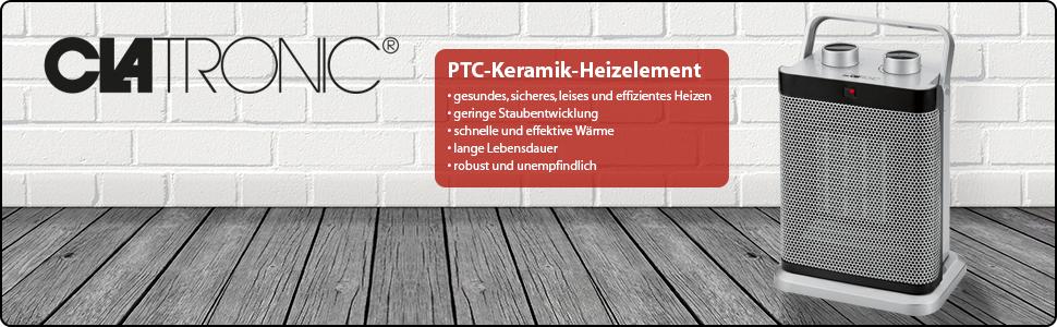 PTC Keramik Heizelement Heizlüfter Ventilator Clatronic HL 3631