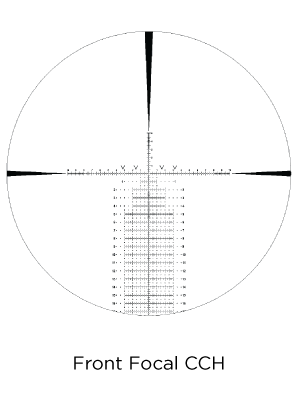 CCH 10x reticle