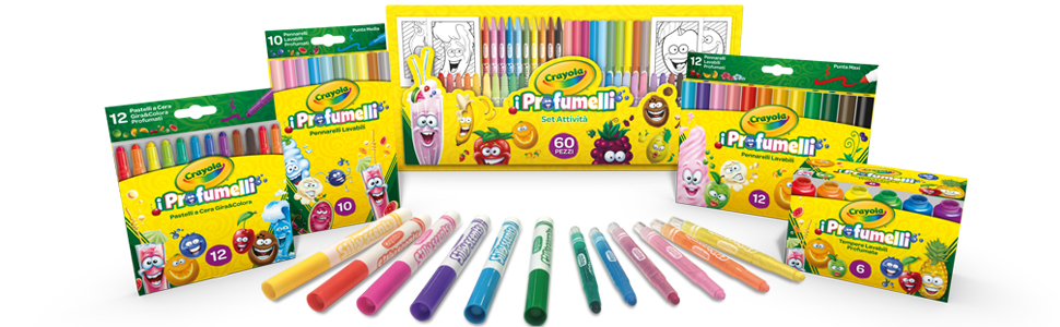 perfumed; scents; perfumes; coloring; back to school; backpack; markers; tempera; coloring