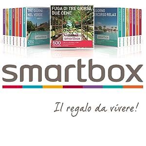 Smartbox Fuga Di 3 Giorni E 2 Cene Cofanetto Regalo Coppia 2 Notti Con Colazione E 2 Cene Per 2 Persone Idee Regalo Originale Amazon It Sport E Tempo Libero