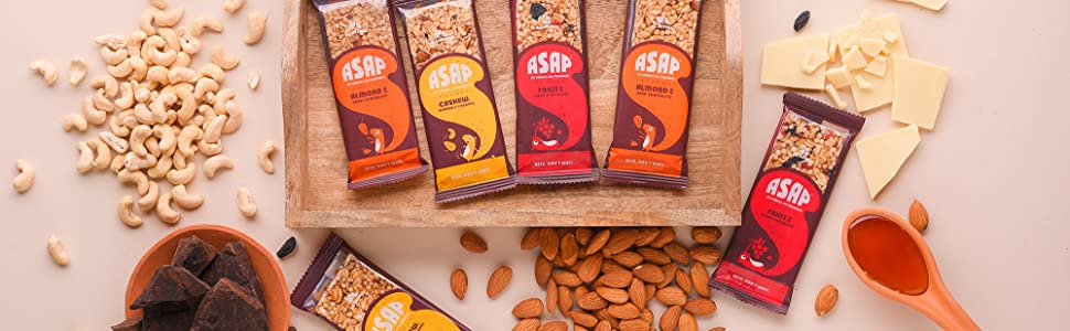 ASAP As Simple as Possible granola/snack/breakfast bars