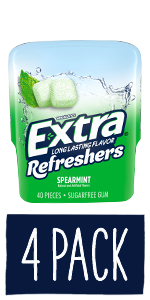 EXTRA Refreshers Spearmint Chewing Gum