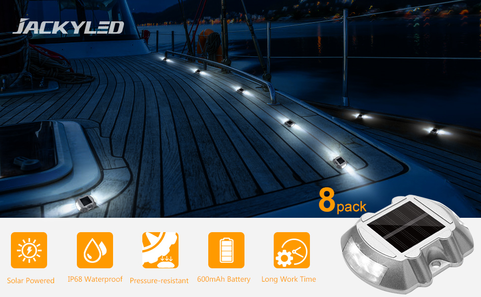 solar dock light