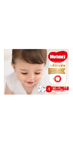 huggies ultimate nappies size 3 - 5