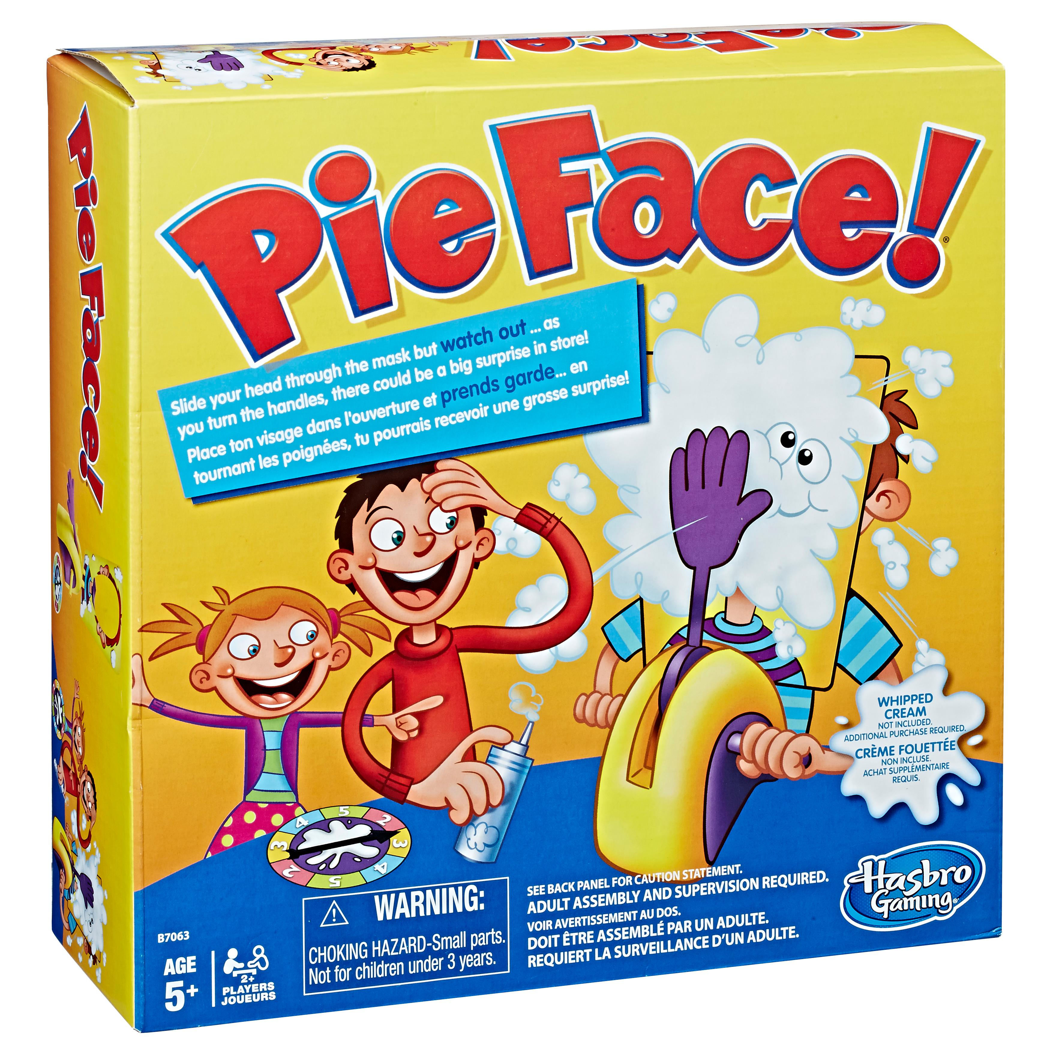 pie face game near me