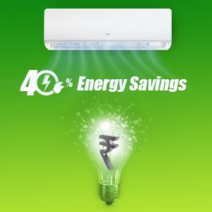 40% Energy Saving