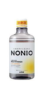 NONIOマウスウォッシュノンアルコール ライトハーブミント