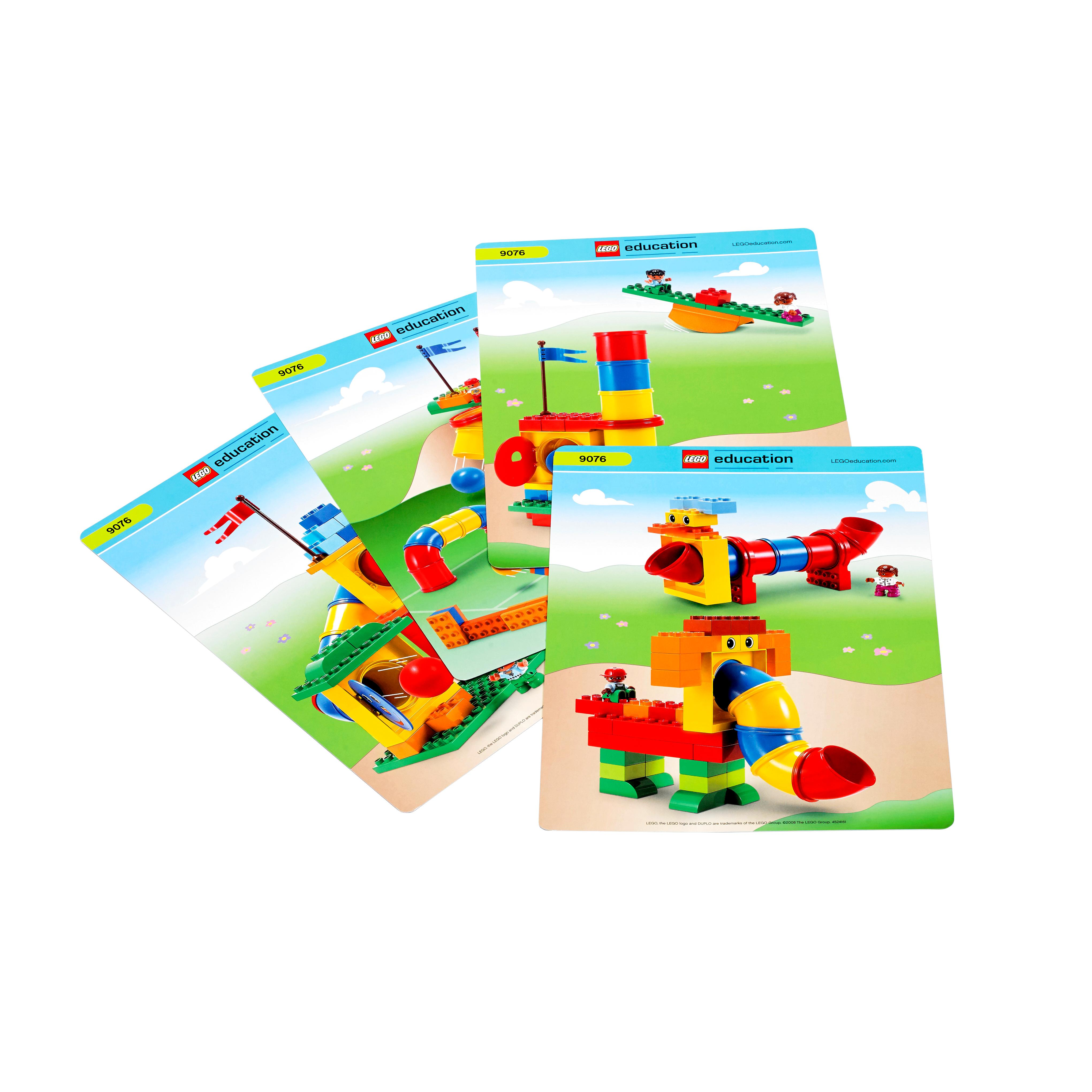 Lego education duplo tubes experiment set 4510978 147 for Modele maison lego duplo