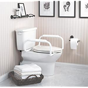 Amazon.com: Moen DN7015 Home Care Toilet Safety Rails, Glacier: Home on grab bars for bathroom, toilets for bathroom, mobility aids for bathroom, furniture for bathroom, hardware for bathroom, ladder for bathroom, shelving for bathroom, windows for bathroom, mirrors for bathroom, standing shelves for bathroom, safety rails home, wheelchairs for bathroom, doors for bathroom, commodes for bathroom, handrails for bathroom, signs for bathroom, lighting for bathroom, carts for bathroom, towel bars for bathroom, flooring for bathroom,