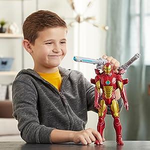 environ 30.48 cm Action Figure Set Spiderman Titan Hero Blast Gear 12 in