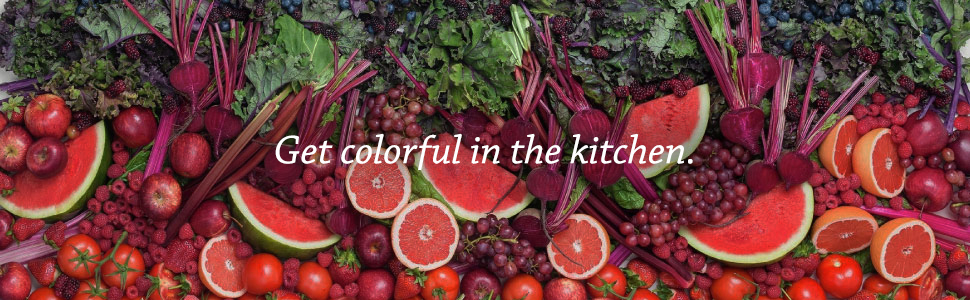 Get colorful in the kitchen