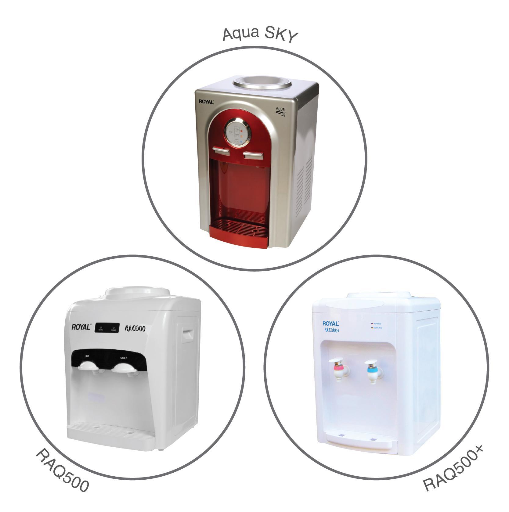 Royal raq 500 dispensador de agua de mesa agua fr a for Dispensador agua fria media markt