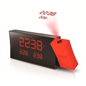 Oregon Scientific RMR221P Reloj proyector con despertador y ...
