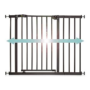 hauck close n stop Cancelletto di sicurezza per porte e scale da 96 a 101 cm