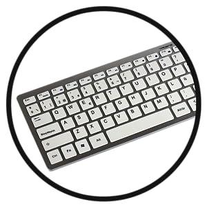 Tacens Levis Combo - Pack de teclado y ratón gaming (funcional y elegante, inalámbrico, 2.4 G) gris - teclado QWERTY español, Blanco