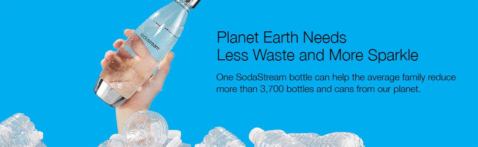 sodastream reduce reuse recycle